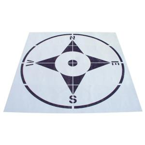 Stencil Ease 8 ft. Compass Stencil by Stencil Ease