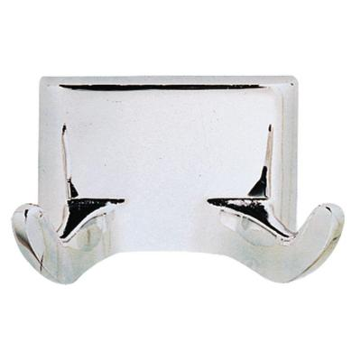 Millbridge Double Robe Hook in Polished Chrome