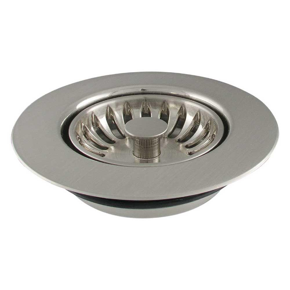 LDR Industries 4-1/2 in. Disposal Strainer in Stainless-Steel