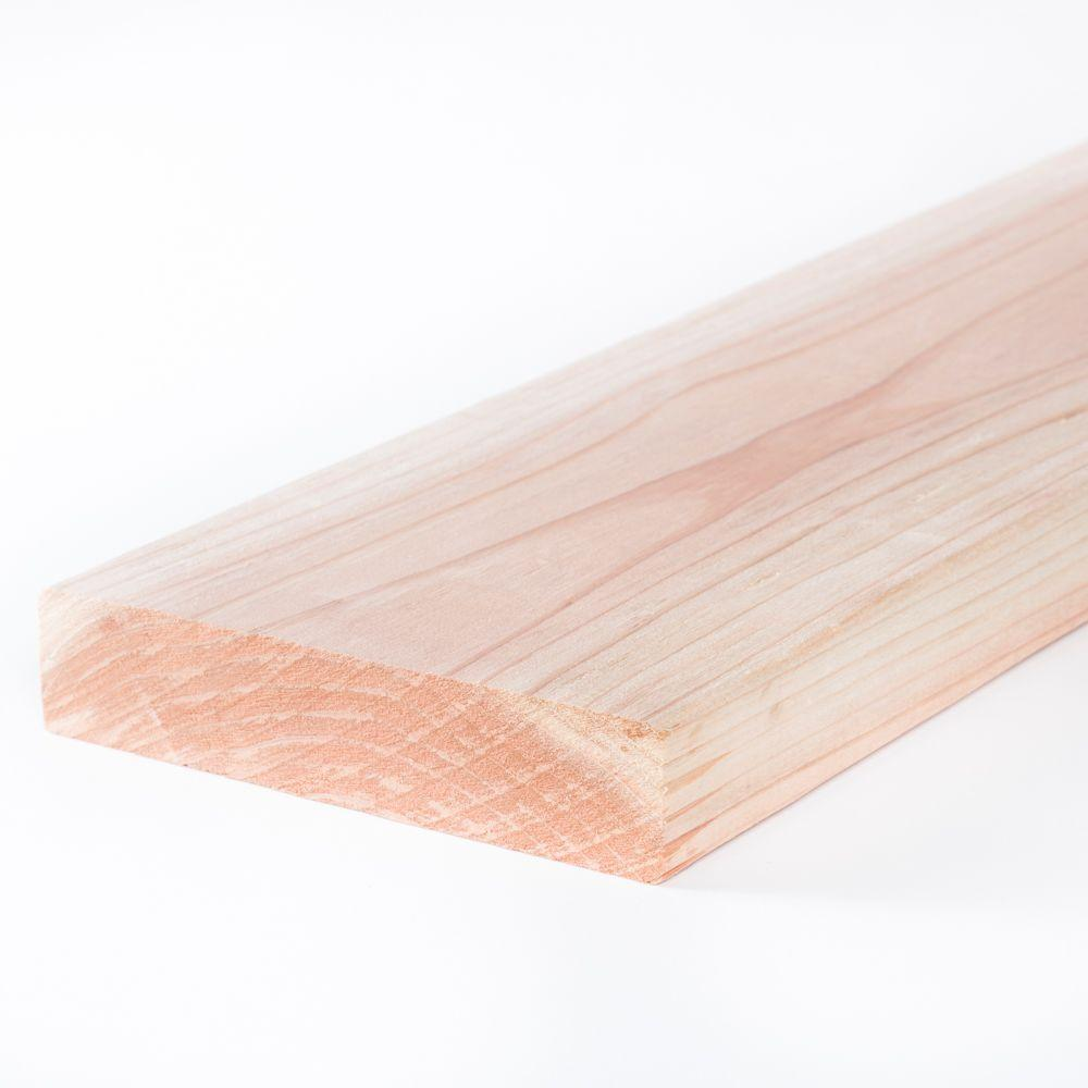 CAPITALLUMBERCOMPANY CAPITAL LUMBER COMPANY 2 in. x 12 in. x 10 ft. Construction Common Redwood S4S Lumber