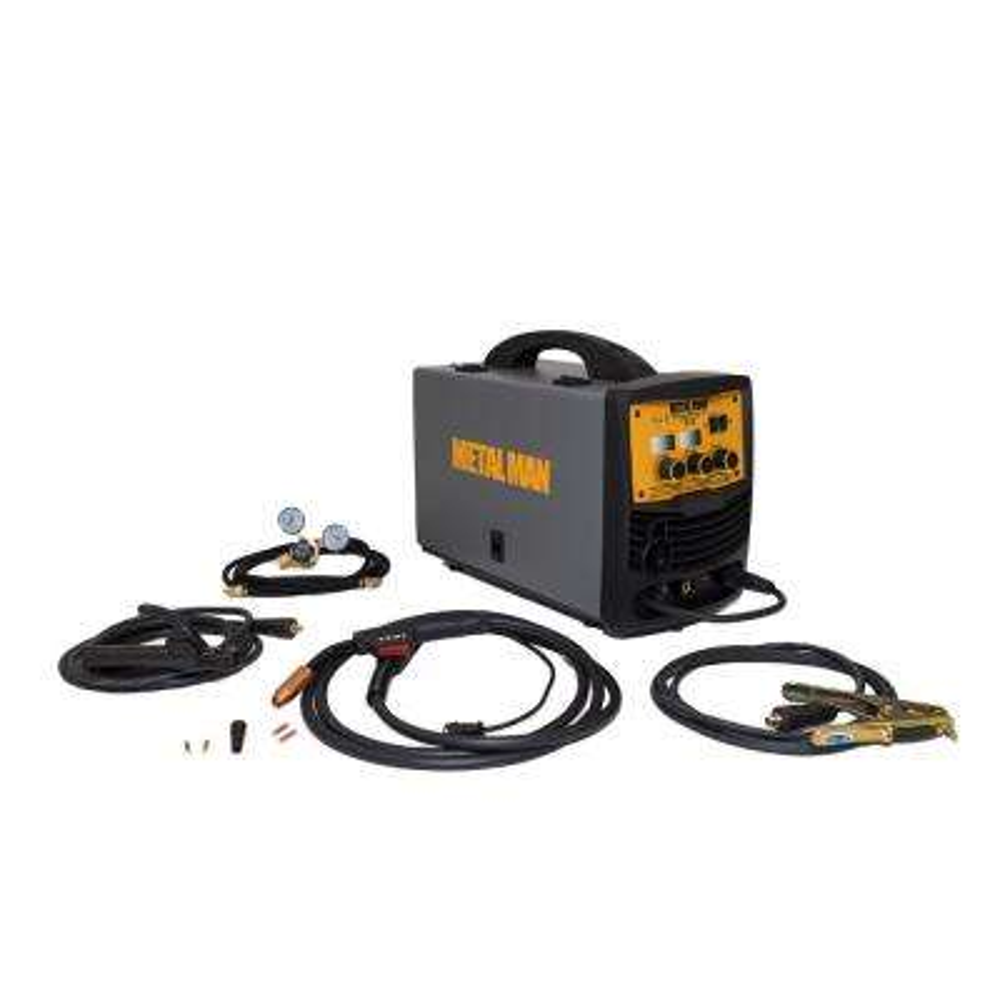 140 Amp 120-Volt Input Power Inverter Mig, Flux Core, DC Stick Welder