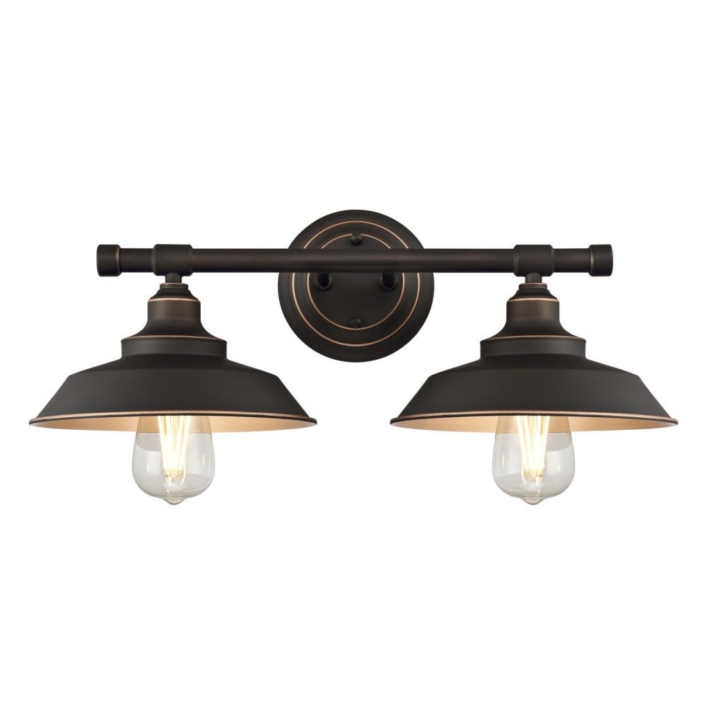 Westinghouse Iron Hill Pendant: Westinghouse Iron Hill 2-Light Oil Rubbed Bronze With