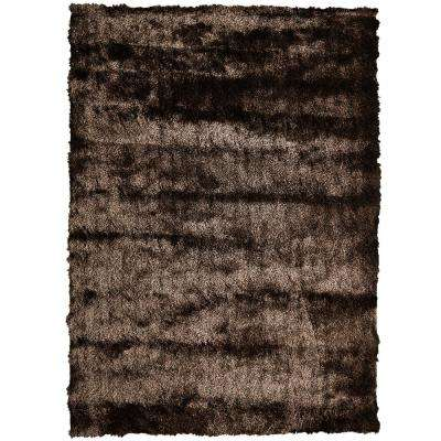 So Silky Chocolate 8 Ft X 12 Area Rug