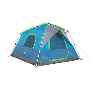Click here to buy Coleman Signal Mountain 8 ft. x 7 ft. 4-Person Instant Tent by Coleman.