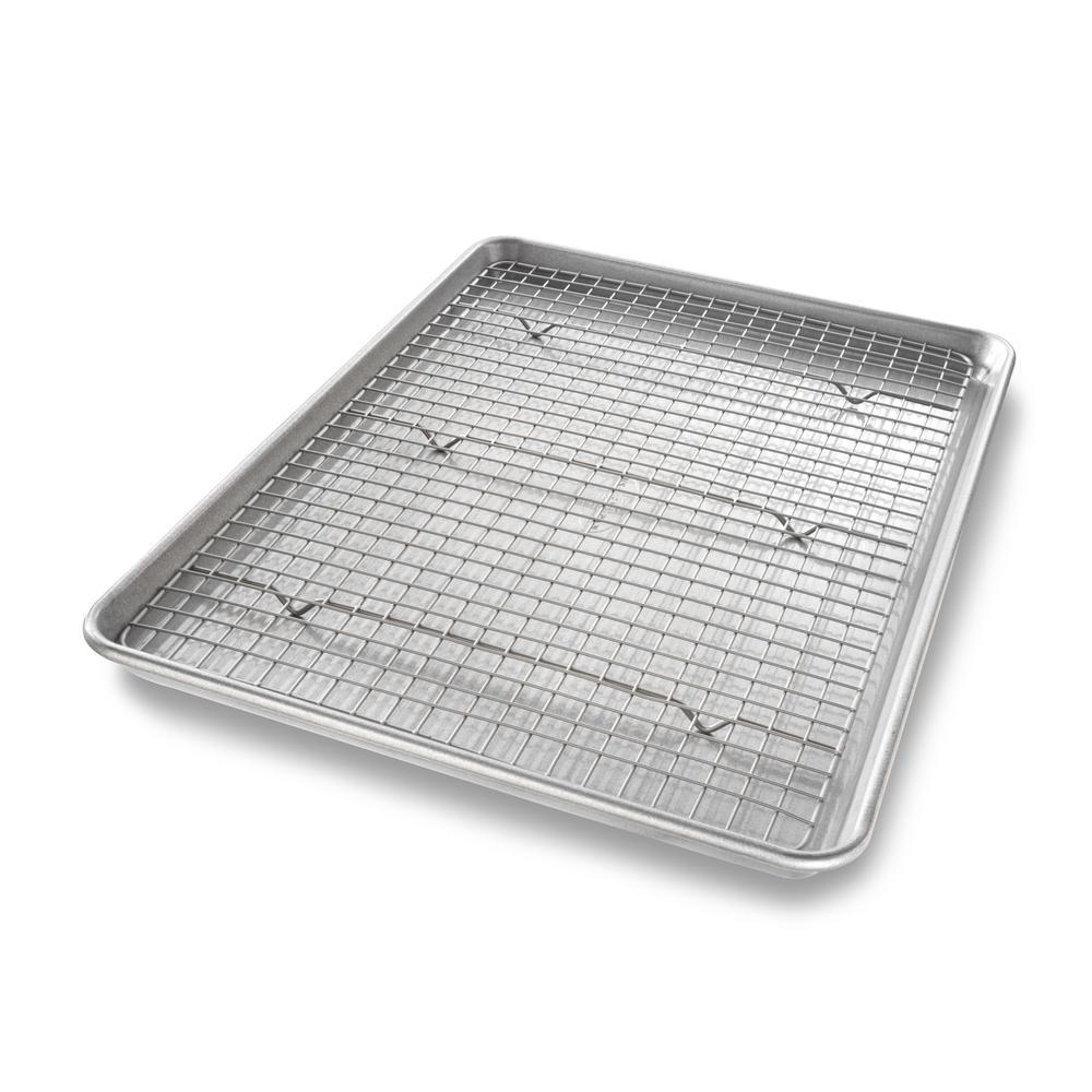2-Piece Baking Rack and Pan Set