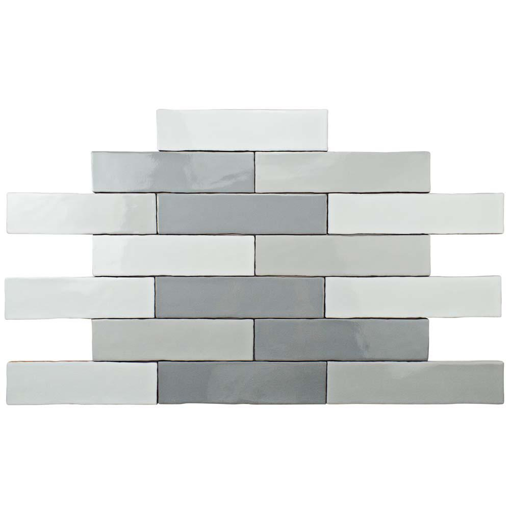3x12 ceramic tile tile the home depot alaska craquelle gris mix 3 in x 12 in ceramic wall tile dailygadgetfo Gallery