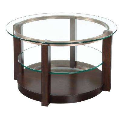 Benton Espresso Traditional Coffee Table