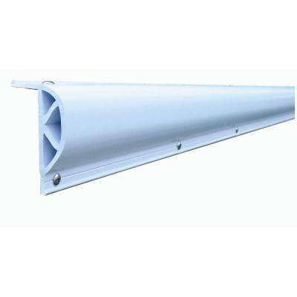 24 ft. Heavy Slant P Profile in White