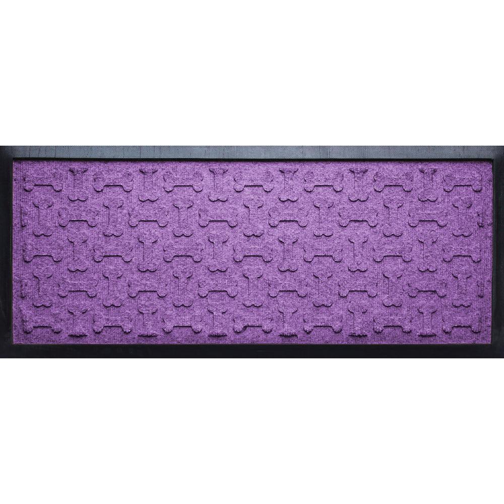 Purple 15 in. x 36 in. x 1/2 in. Dog Treats Boot Tray