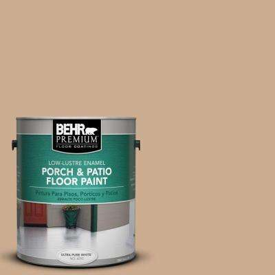 1-Gal. #PFC-23 Tan Low-Lustre Porch and Patio Floor Paint