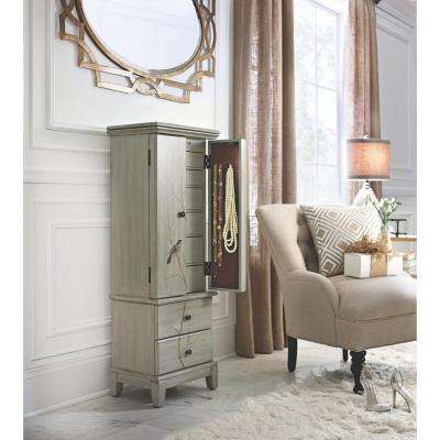 Chirp Pewter Jewelry Armoire