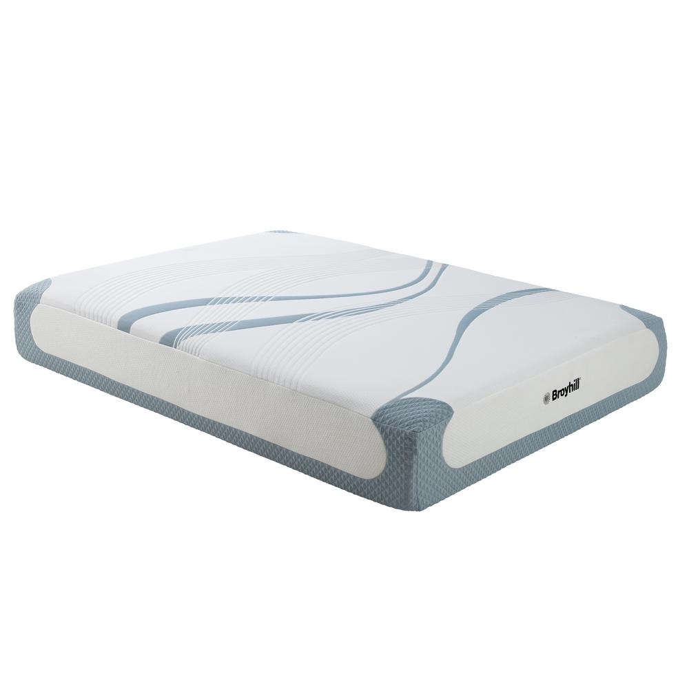 Broyhill Sensura 12 in. Queen Medium Plush Gel Memory Foam Mattress