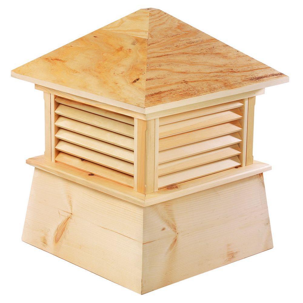 Kent 36 in. x 46 in. Wood Cupola