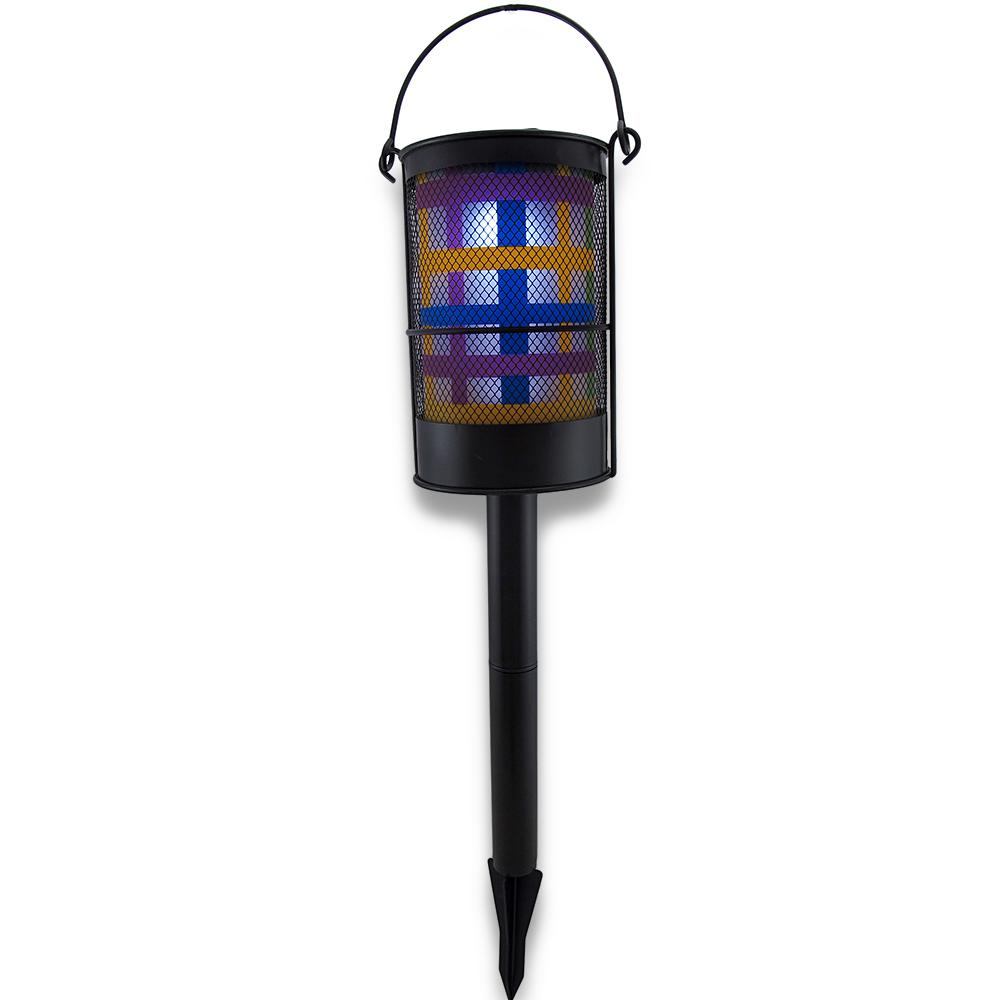 Colorful Solar Powered Lantern Garden Accent Light
