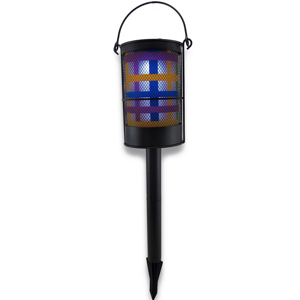 Colorful Solar Powered Lantern Garden Accent Light