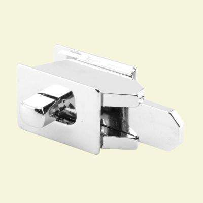Chrome Slide Latch with In-Use Indicator
