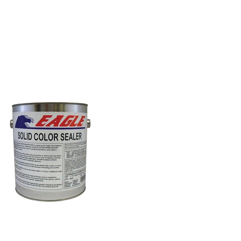 1 gal. Extra White Solid Color Solvent Based Concrete Sealer
