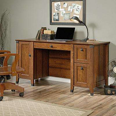 office b sauder desk place desks with organizer furniture hutch clifford grand home n compressed walnut depot the