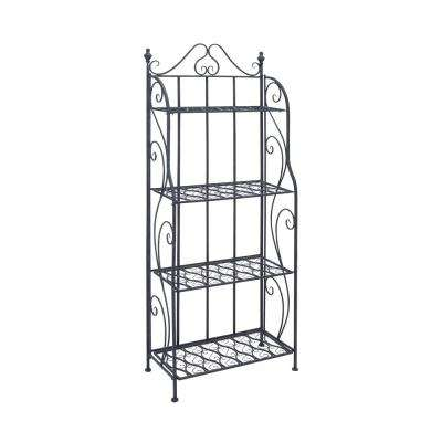 Black 4-Tier Baker's Rack