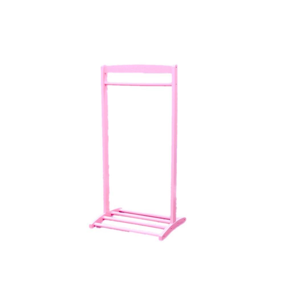 Homecraft Furniture 1-Hook Kid's Cloths Hanger in Pink