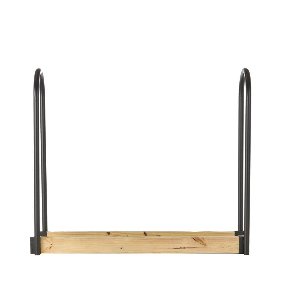 Adjustable Black Log Rack Kit