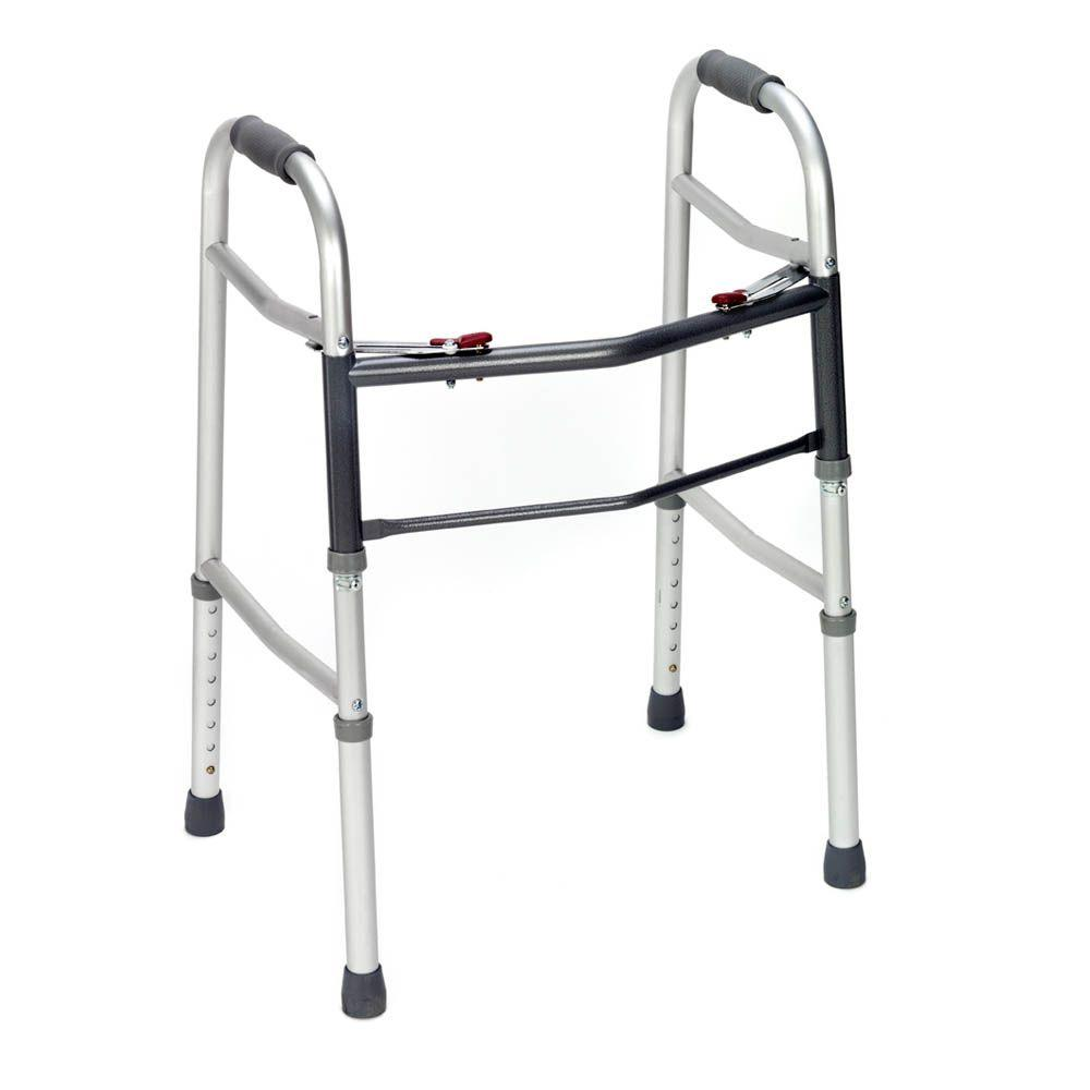 null Revolution Mobility Adult Walker, Two Button without Wheels-DISCONTINUED