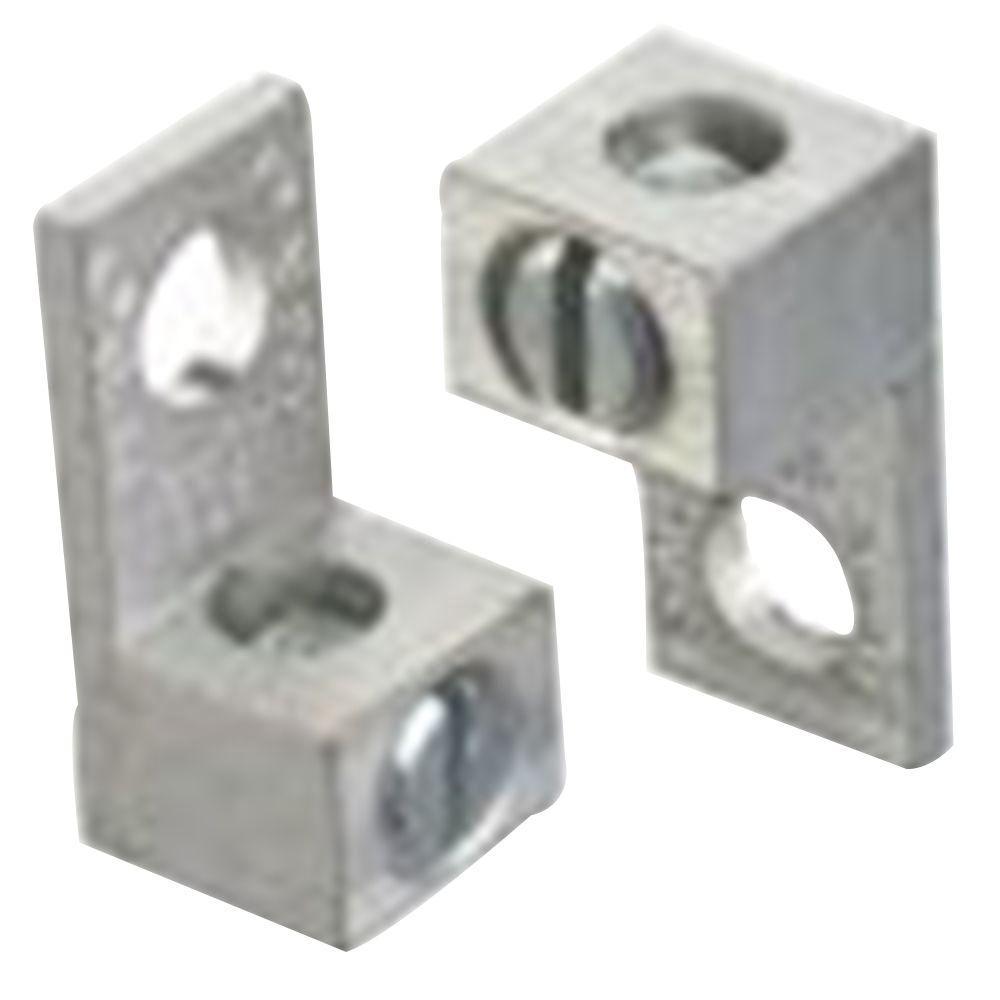 Blackburn 1 Hole 2 Conductor Type ADR Mount Wire Lug ADR6