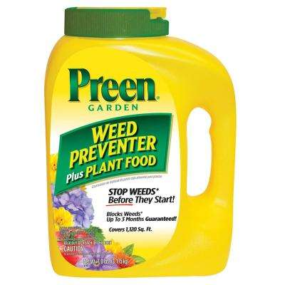 7.0 lb. Garden Weed Preventer Plus Plant Food