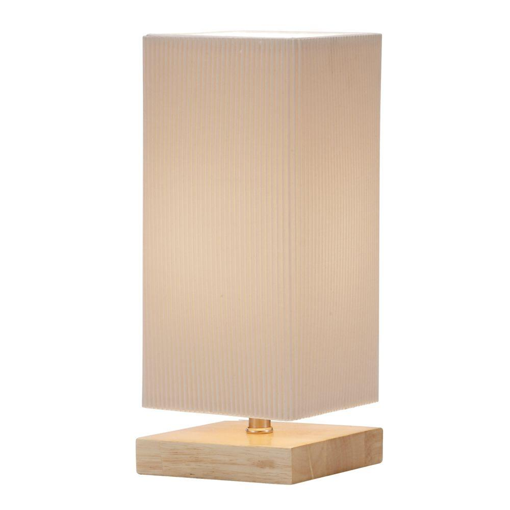 Adesso Angelina 12 in. Natural Table Lantern
