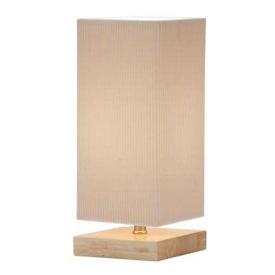 Angelina 12 in. Natural Table Lantern