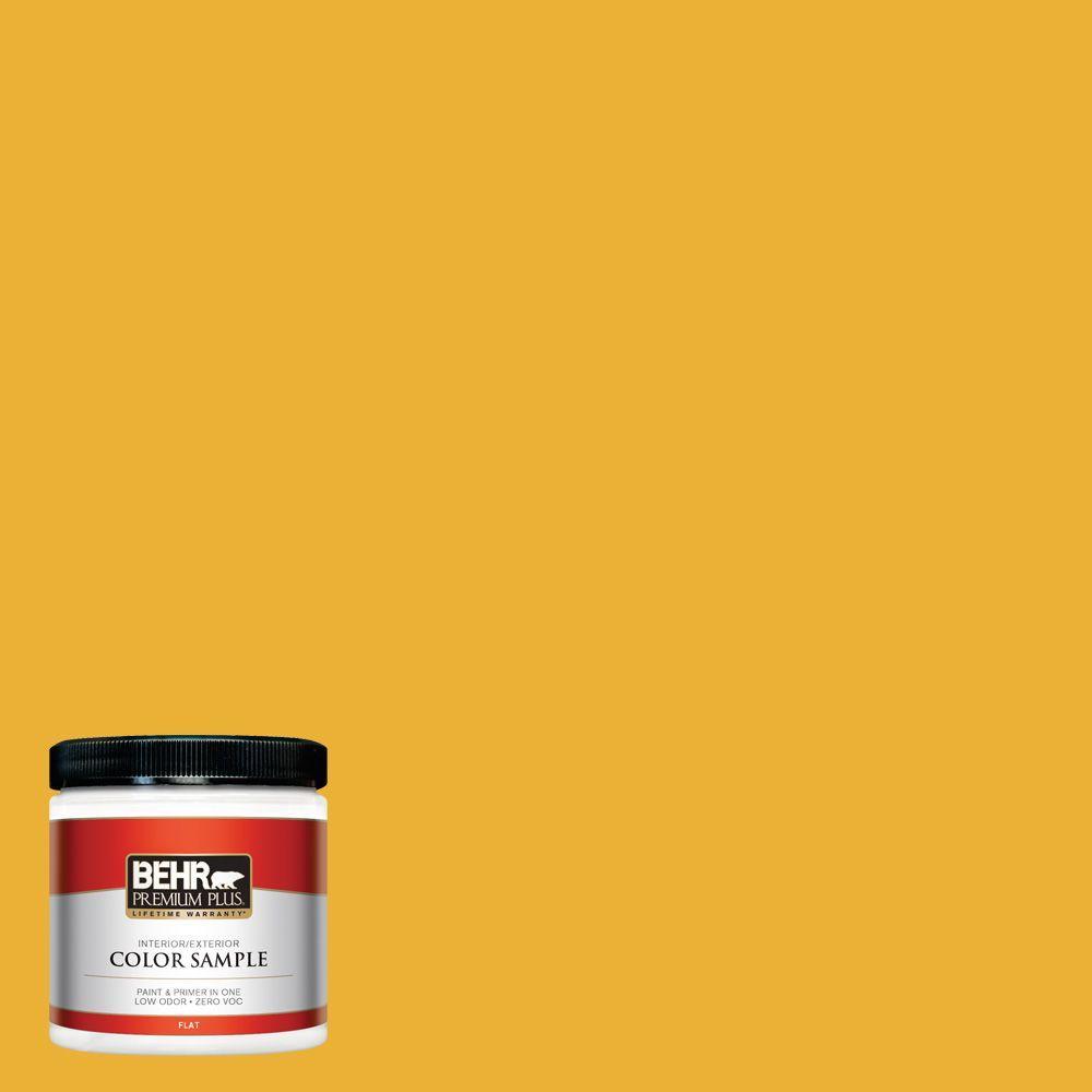 8 oz. #P280-7 Midsummer Gold Interior/Exterior Paint Sample