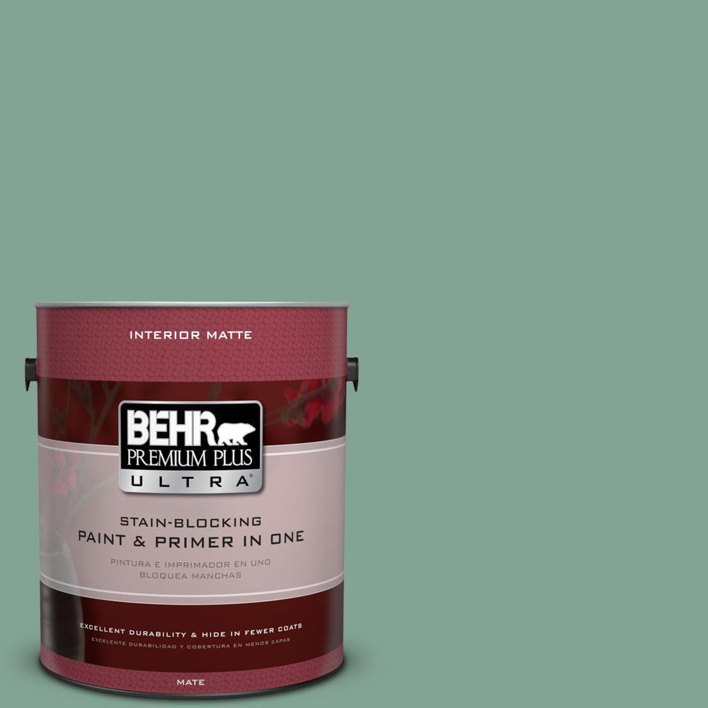 1 gal. #470F-4 Aspen Aura Flat/Matte Interior Paint