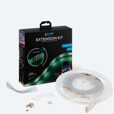 Flexible Trimmable Extension Kit for Prisma LED Strip Add up to 6.6 ft. to Existing Prisma Strip