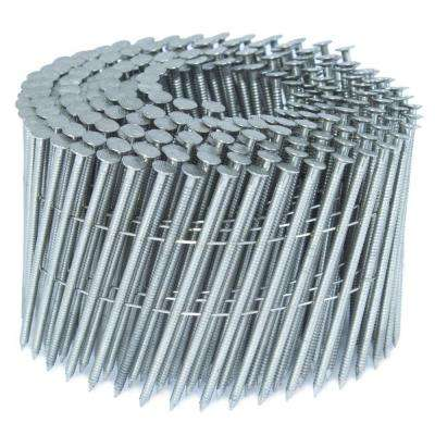 2.5 in. x 0.09 in. 15-Degree Ring Stainless Wire Coil Siding Nail 4,000 per Box