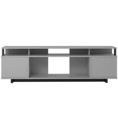 Scepter 59.41 in Dove Gray TV Stand Fits TV's up to 65 in.