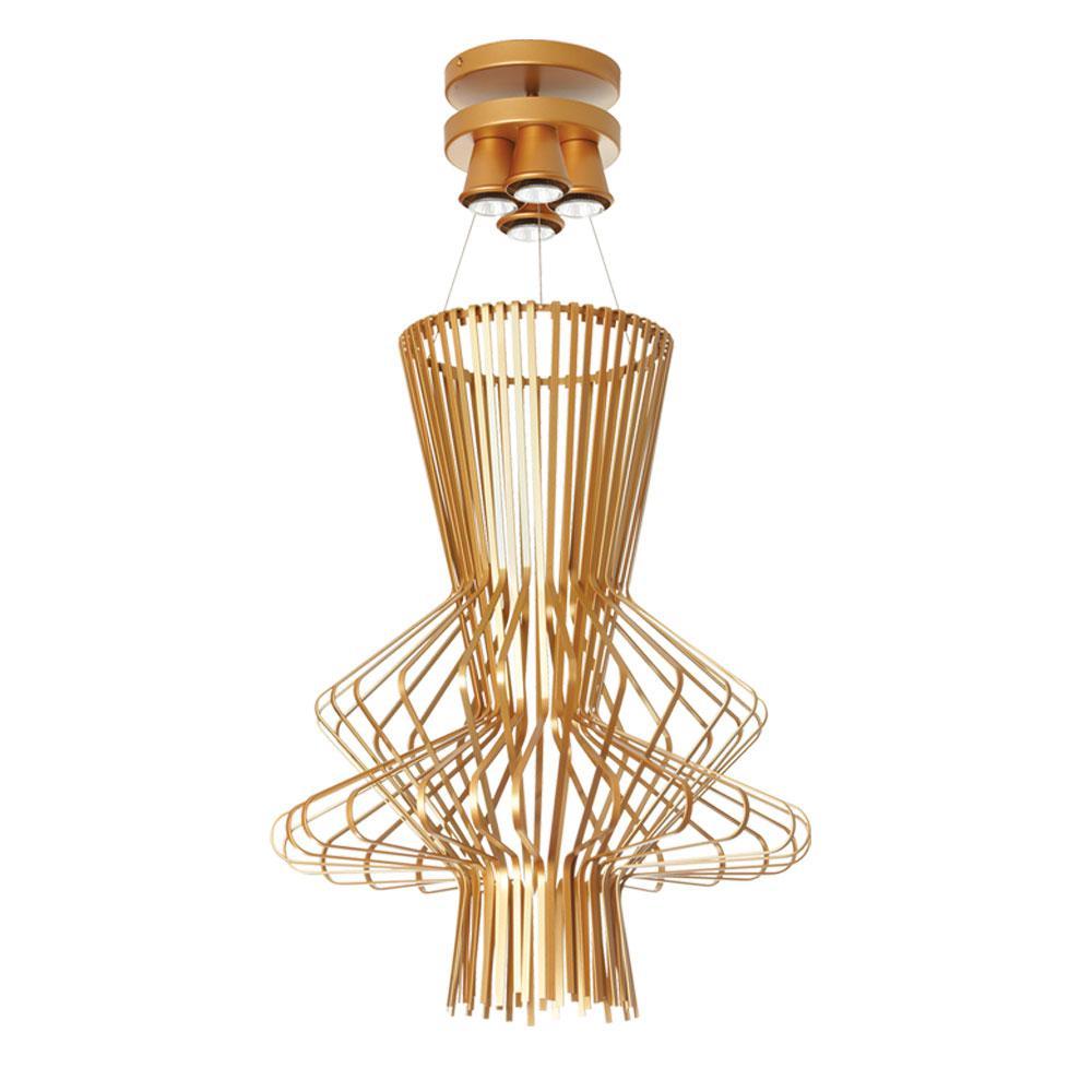 4light gold semi gloss pendant filament design 4light gold semi gloss pendant