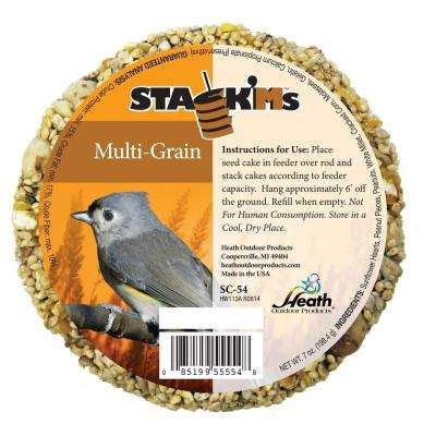 Stack'Ms Seed Cakes - Multi-Grain (Case of 6)