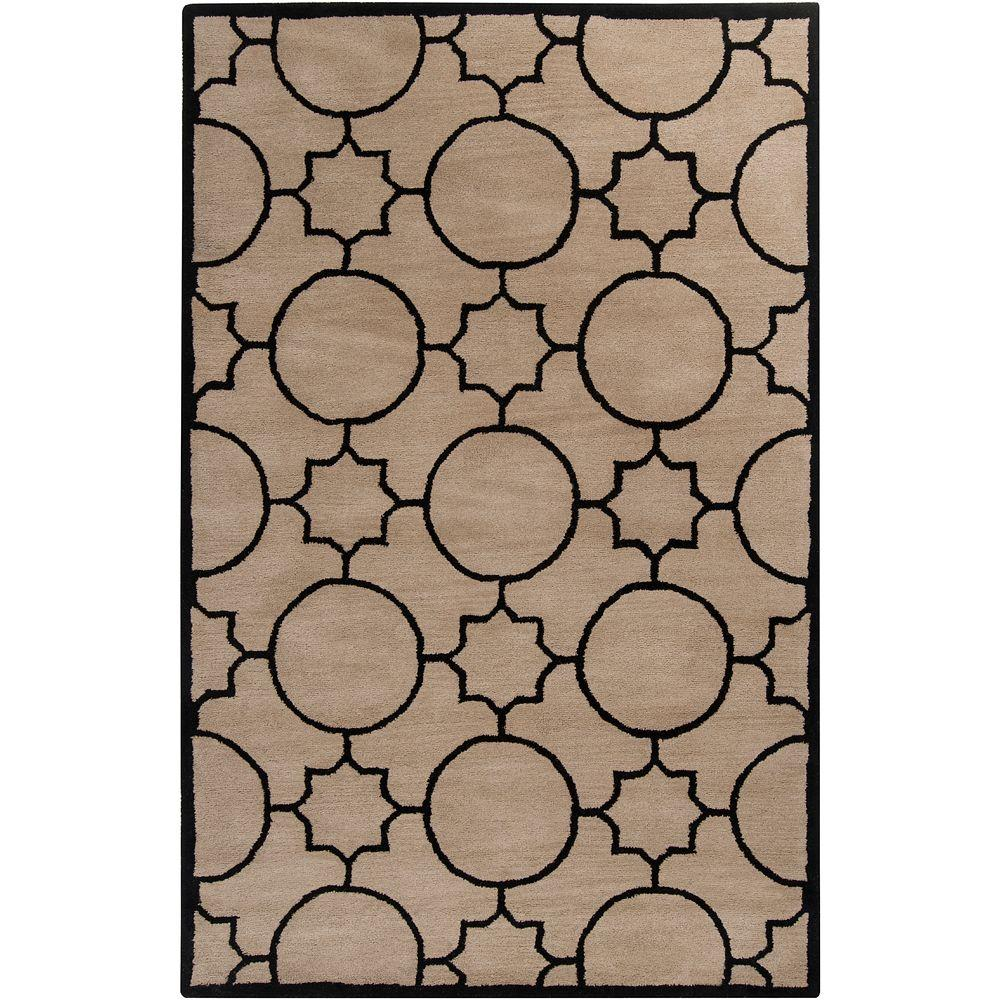 Artistic Weavers Oscar Ivory 5 ft. x 7 ft. 9 in. Area Rug