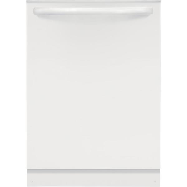 24 in. Built-In Tall Tub Top Control Dishwasher in White, ENERGY STAR, 54 dBA