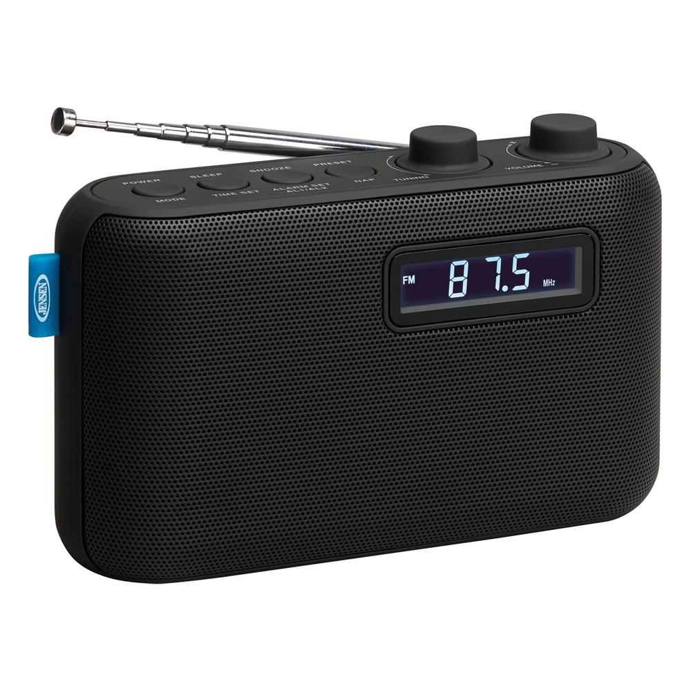 Jensen Portable Am Fm Digital Radio Sr 50 The Home Depot