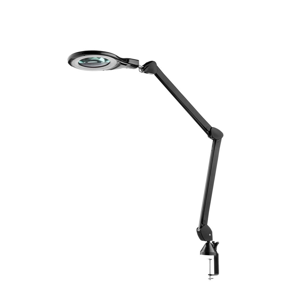 Natural Daylight Led Magnifier Clamp Lamp