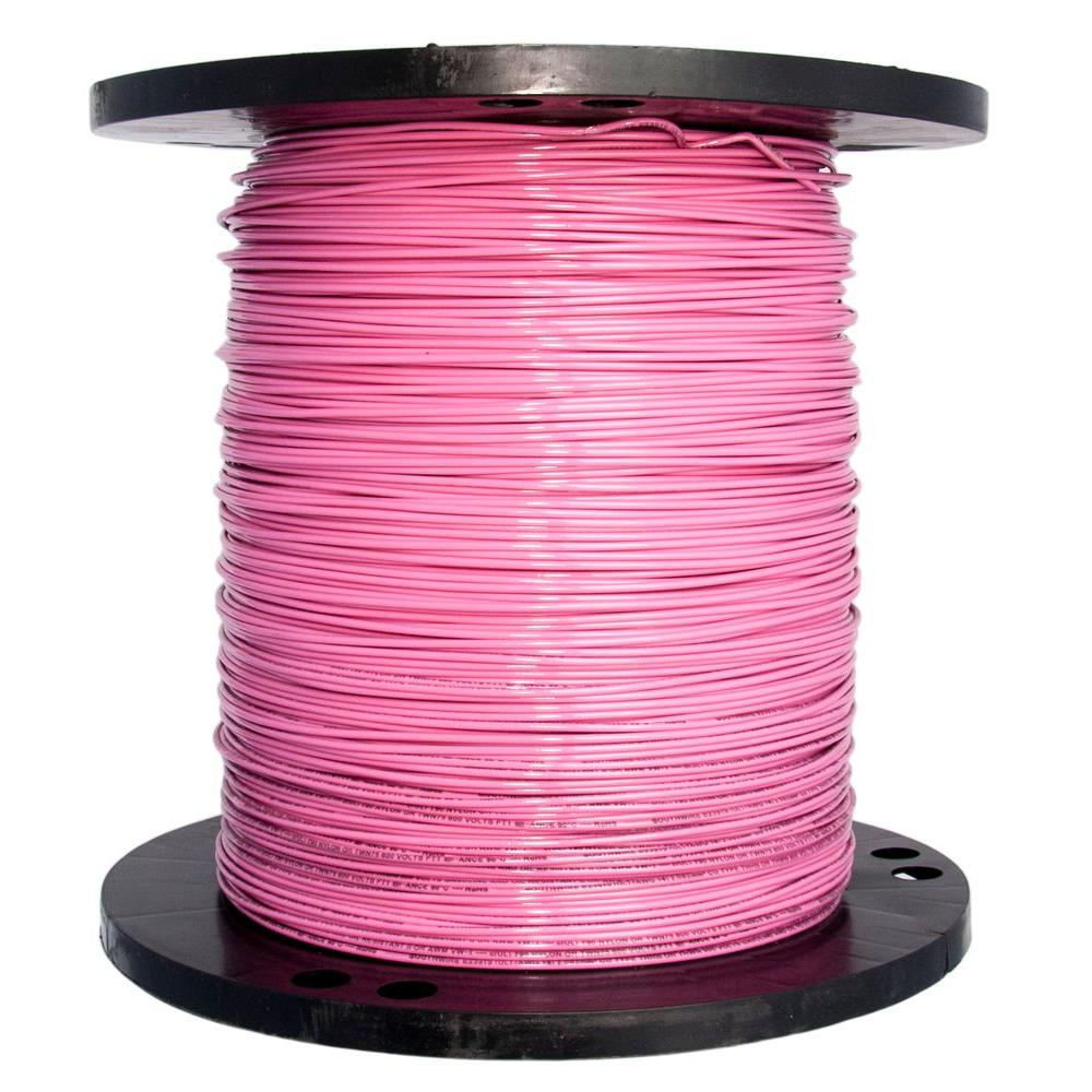 Pink - Wire - Electrical - The Home Depot