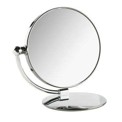 6 in. x 8 in. Moon Folding Makeup Mirror
