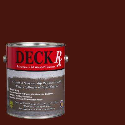 Deck Rx 1 gal. Brazile Nut Wood and Concrete Exterior Resurfacer