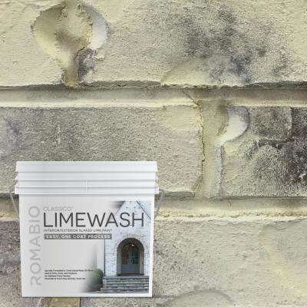 0.67 gal. Tropea Beige Limewash Interior/Exterior Paint