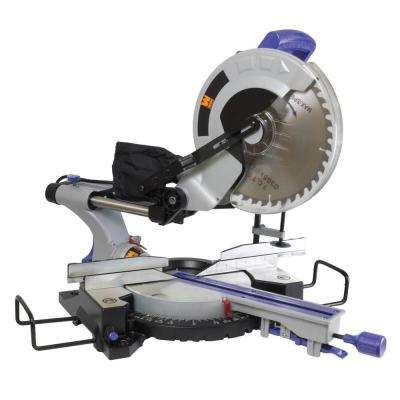 15-Amp 12 in. Compound Sliding Miter Saw