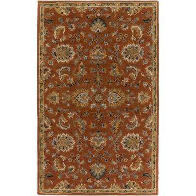 Middleton Mallie Rust 6 ft. x 9 ft. Indoor Area Rug