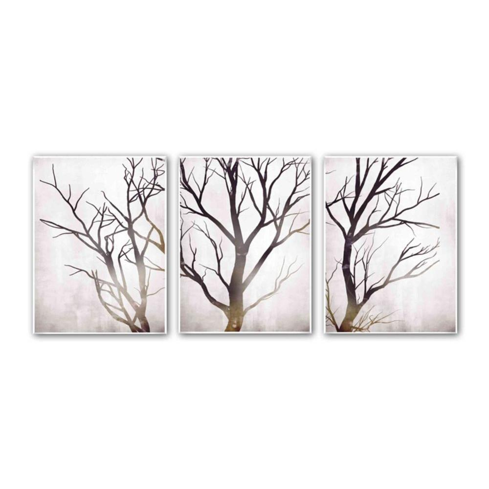 Winter Tree  Print Wall Art  sc 1 st  Home Depot & PTM Images 18 in. x 24 in.