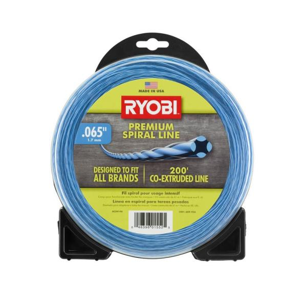 0.065 in. x 200 ft. Heavy-Duty Spiral Corded and Cordless Trimmer Line