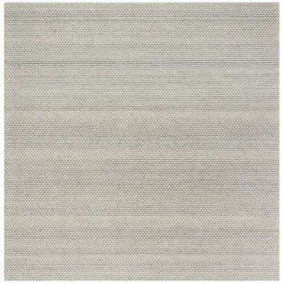 Natura Gray 6 ft. x 6 ft. Square Area Rug